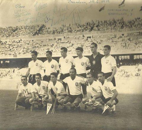 Corinthians contra o Barcelona, 1959