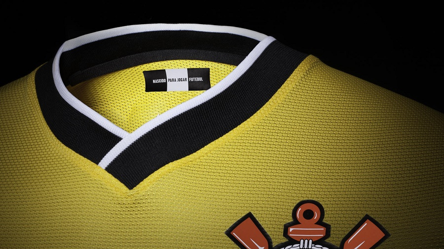 camisa 3 do corinthians amarela 2014