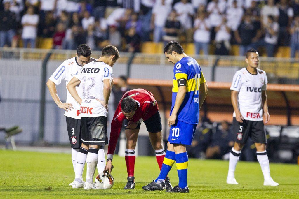 Corinthians x Boca, 2012