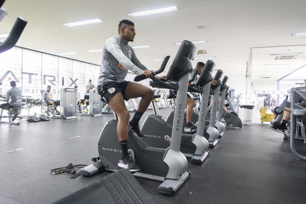 treinamentos corinthians, musculação