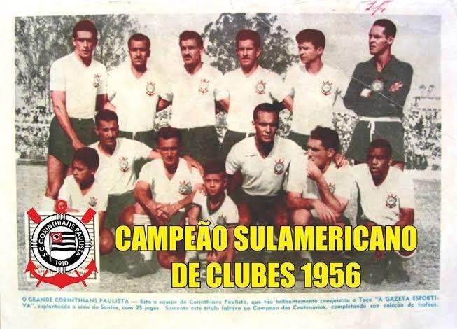 Corinthians 5x2 Porto 1956