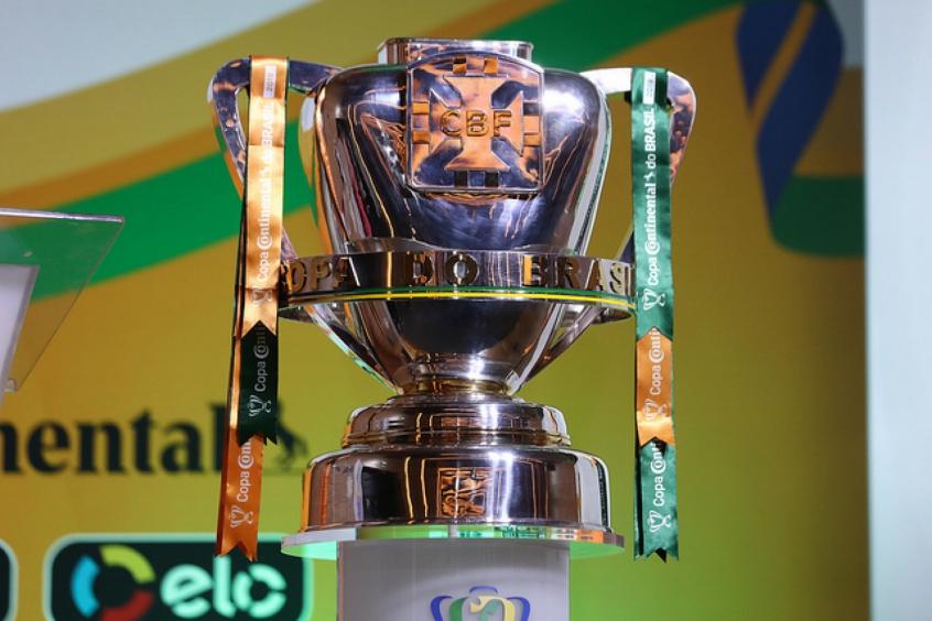 Troféu da Copa do Brasil 2020 - (Foto: Lucas Figueiredo/CBF)