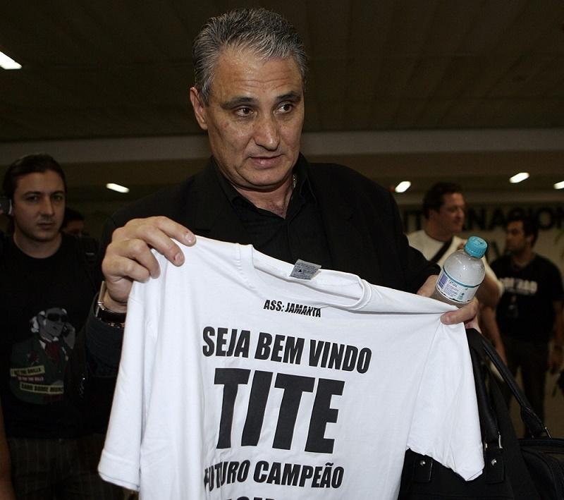 Técnico Tite/(Foto: Daniel Augusto Jr./Ag. Corinthians)