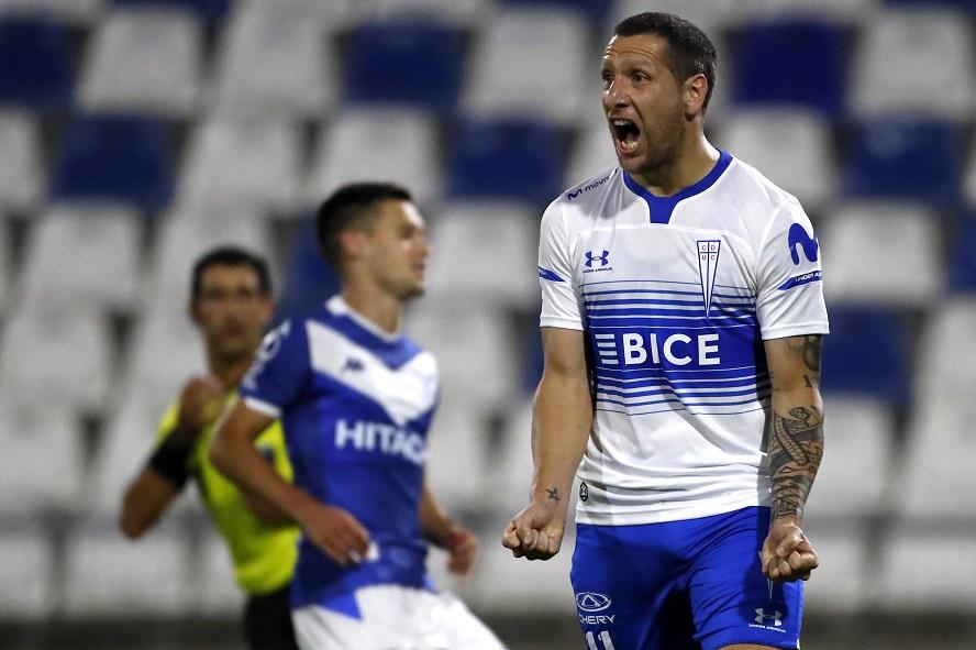 Andres Pina/Photosport Universidad Catolica vs Velez Sarsfield, copa Sudamericana 2020/IMAGO