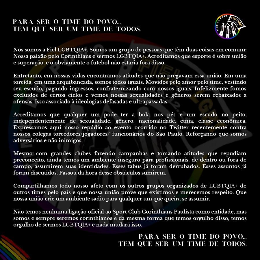 Foto Fiel LGBT Divulgação