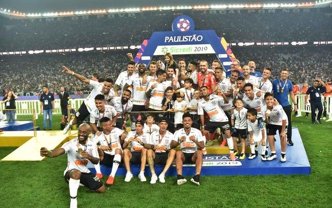 Corinthians campeão Paulista em 2017, 2018 e 2019 - Foto: © Rodrigo Gazzanel/Ag. Corinthians |