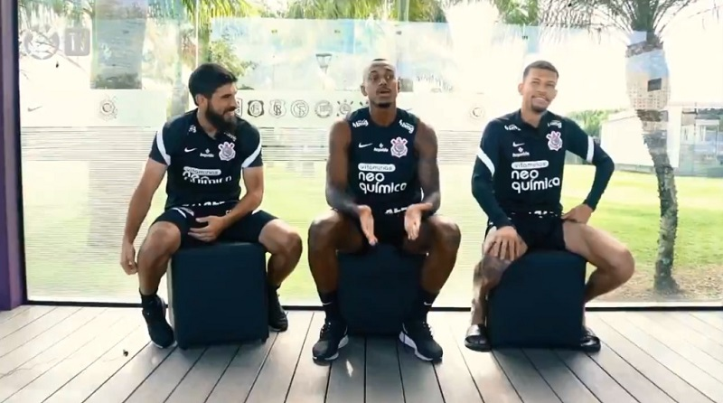 Reprodução vídeo Corinthians TV