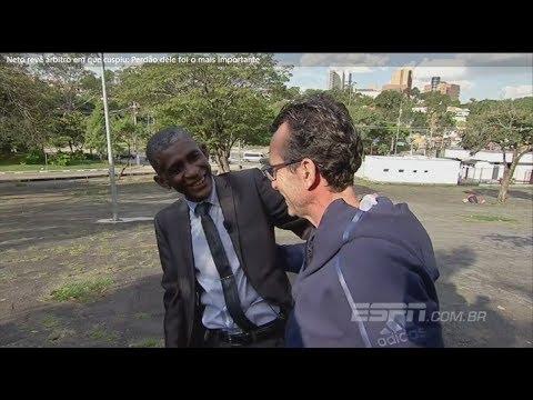 Neto e José Aparecido (Imagem/Reprodução/Vídeo/ESPN)