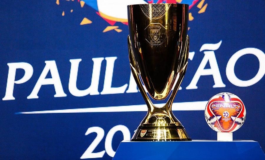 Trofeu do Campeonato Paulista 2021 - Foto Divulgação FPF