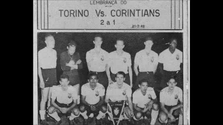 Time do Corinthians que enfrentou o Torino. Foto: reprodução TimoneirosBlog